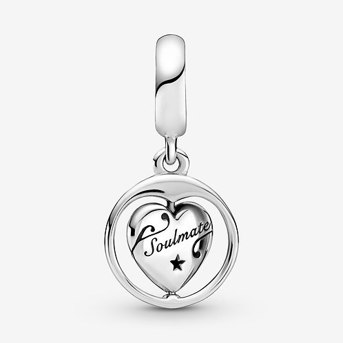 Forever & Always Soulmate Drop Charm