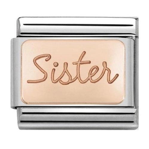 Nomination Rose Gold Sister