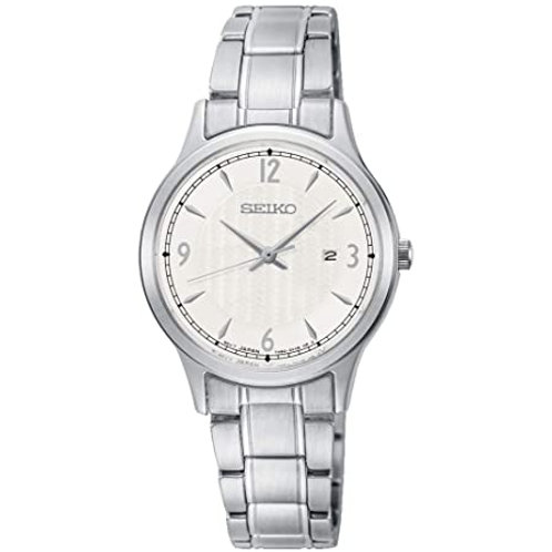 Seiko Ladies' Stainless Steel Bracelet Watch