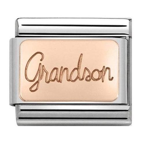 Nomination Rose Gold Grandson