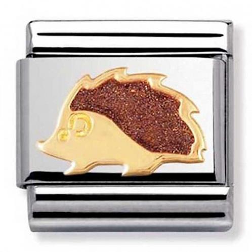 Nomination Gold & Enamel Hedgehog