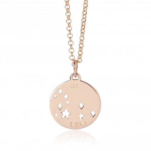 Rose Gold Vermeil Leo Necklace