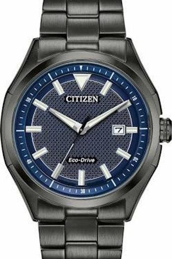 Citizen Mens Blue Dial Strap Watch