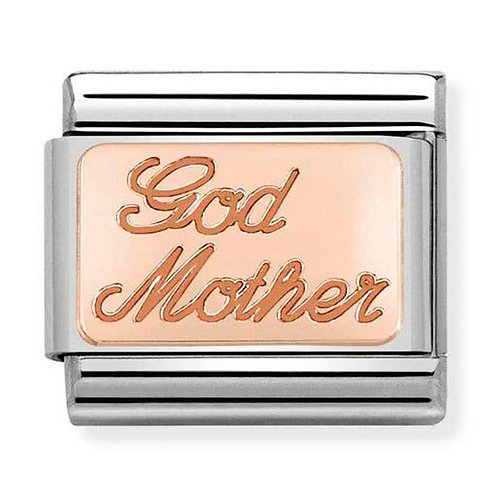 Nomination Rose Gold God Mother