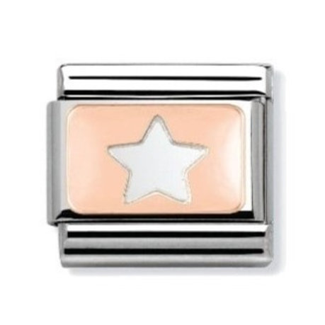 Nomination Rose Gold Star