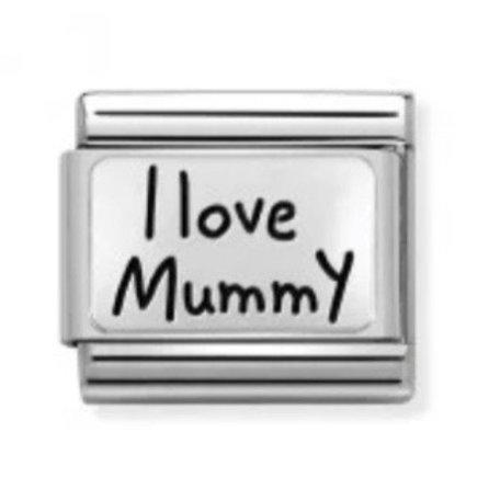 Nomination Silver I Love Mummy