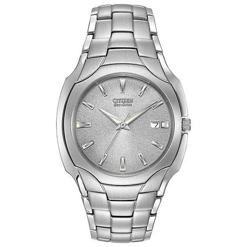 Citizen Mens Grey Dial Bracelet Watch