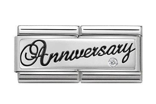 Nomination Silver Double Anniversary