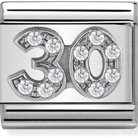 Nomination Silver CZ 30