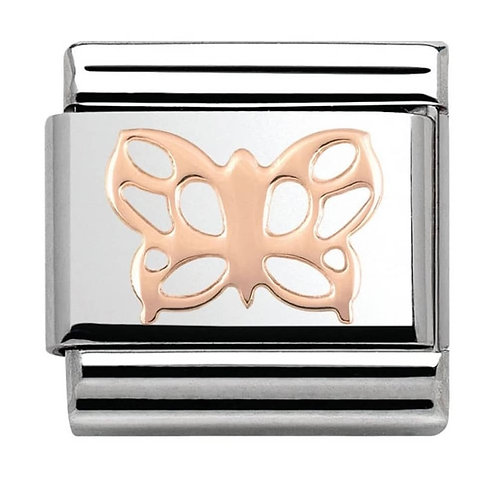 Nomination Rose Gold Butterfly