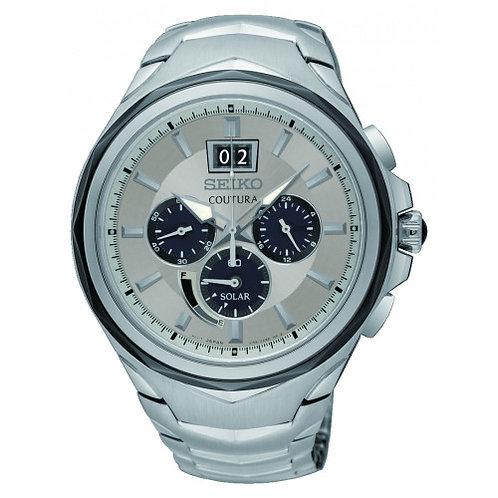 Seiko Coutura Solar Chrono Bracelet Watch
