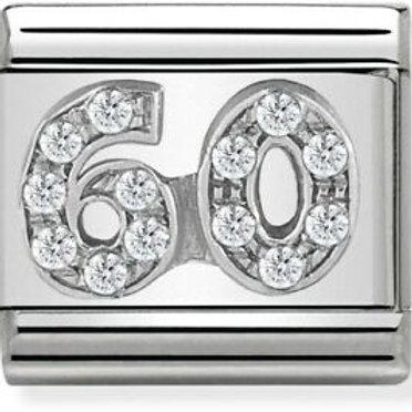 Nomination Silver CZ 60
