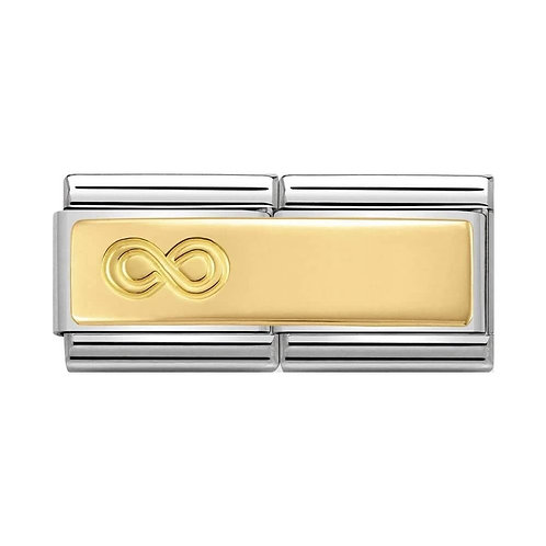 Nomination Gold Double Infinity