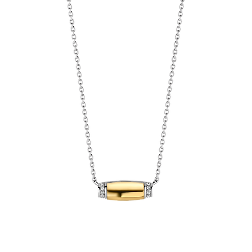 Ti Sento Yellow Gold-Plated Necklace