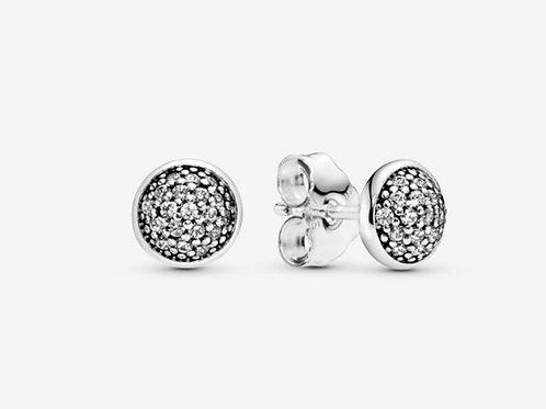 Pavé Dazzling Droplets Stud Earrings
