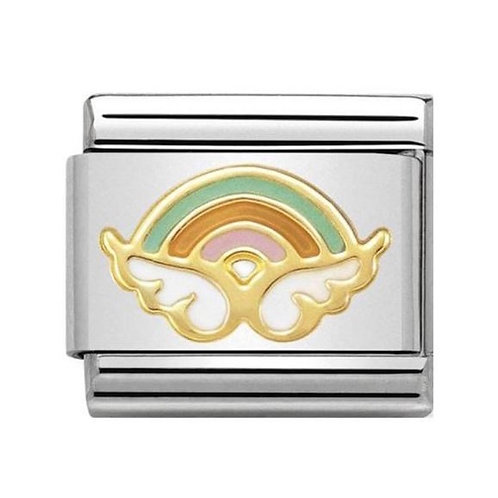 Nomination Gold Multicoloured Angel of Happy Endings