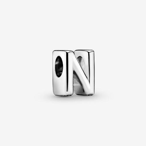Silver Letters N-Z