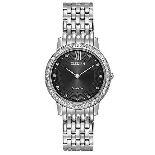 Citizen Ladies Silver Bracelet Watch