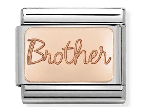 Nomination Rose Gold Brother