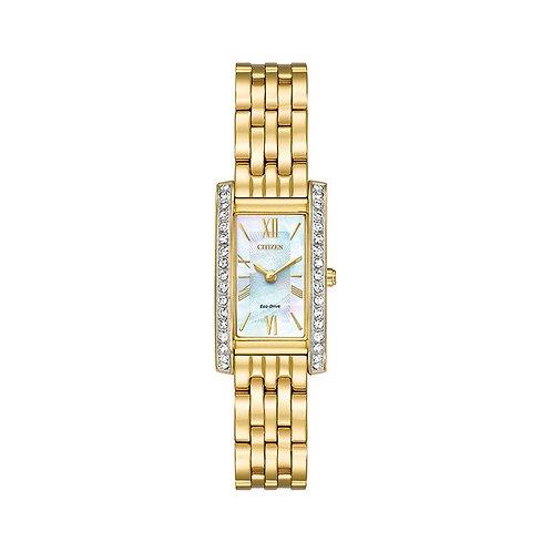 Citizen Ladies Crystal Strap Watch