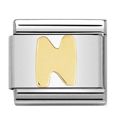 Nomination Gold Letters N-Z