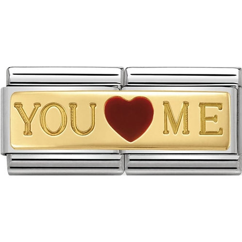 Nomination Gold Double You & Me