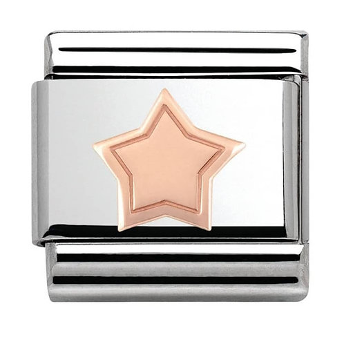 Nomination Rose Gold Star