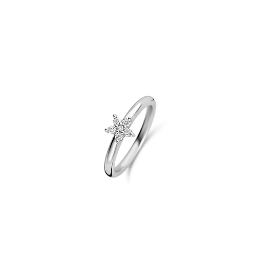 Ti Sento CZ Star Ring