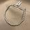 Thumbnail: Sterling Silver 19cm Beaded Sweetie Bracelet
