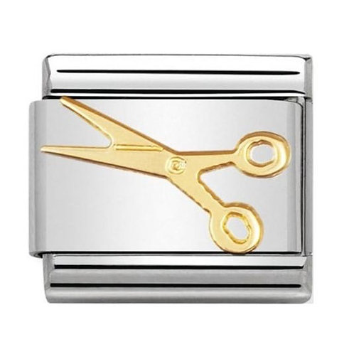 Nomination Gold Little Scissors