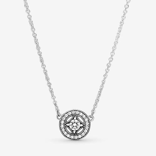 Vintage Circle Collier Necklace