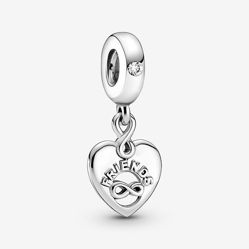 Friends Forever Drop Charm