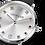 Thumbnail: Coeur de Lion Ladies Silver Grey Multi Stone Watch