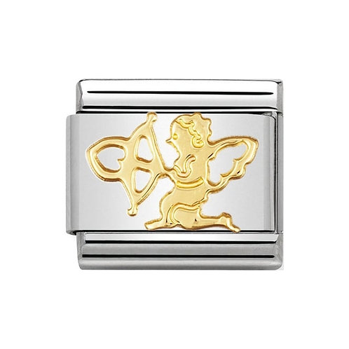 Nomination Gold Cupid with Arrow