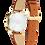 Thumbnail: Citizen Ladies Leather Strap Watch