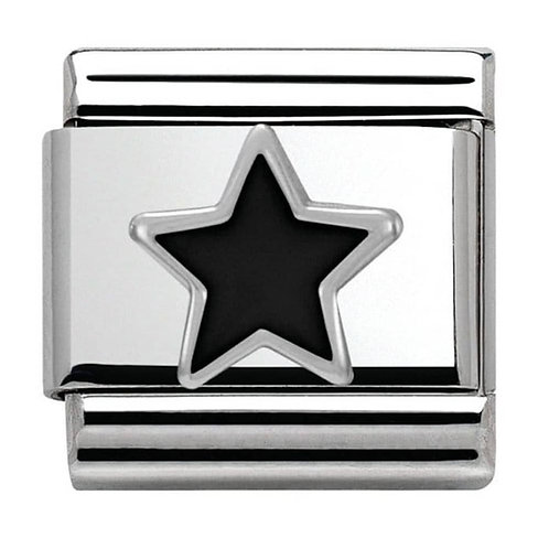 Nomination Silver Black Star