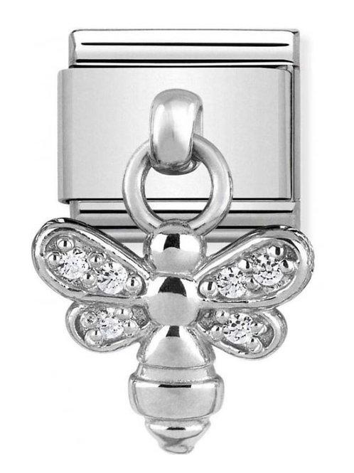 Nomination Silver Drop CZ Bee