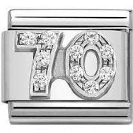 Nomination Silver CZ 70