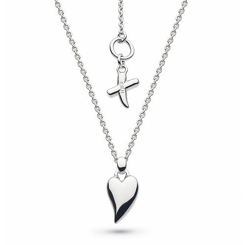 Desire Kiss Mini Heart Necklace