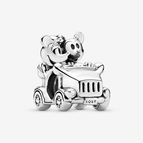 Minnie Mouse & Mickey Mouse Car Charm