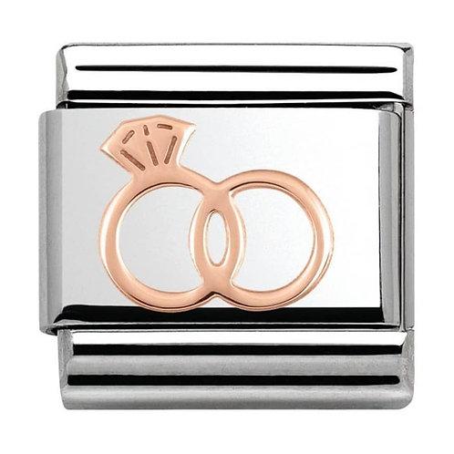 Nomination Rose Gold Wedding Rings