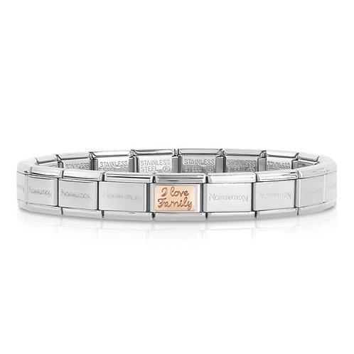 Nomination Rose Family Bracelet