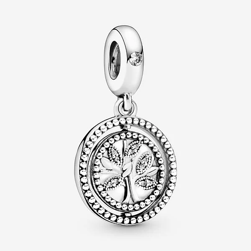 Spinning Family Tree Dangle Charm