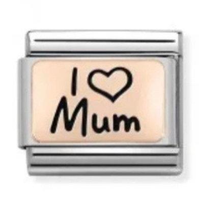 Nomination Rose Gold I Love Mum