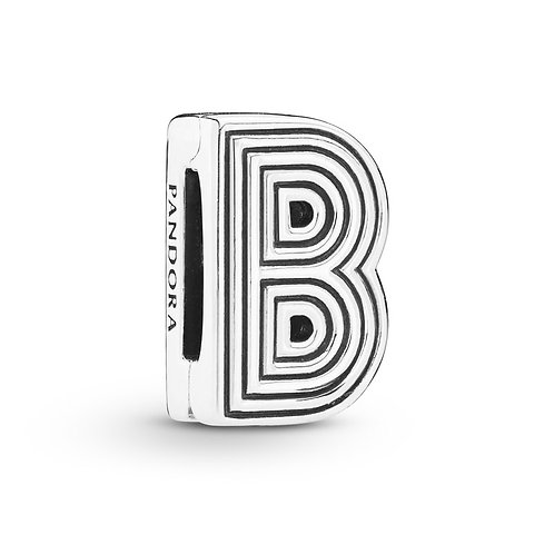 Reflexions Letter B Clip Charm
