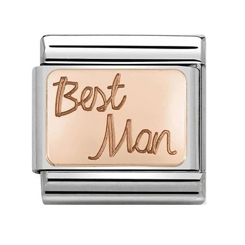 Nomination Rose Gold Best Man