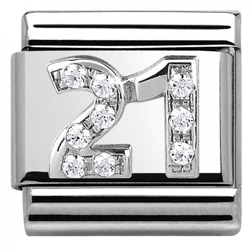 Nomination Silver CZ 21