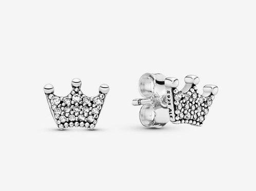 Crown Stud Earrings