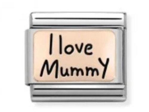 Nomination Rose Gold I Love Mummy
