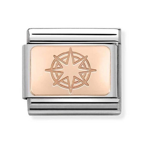 Nomination Rose Gold Compass